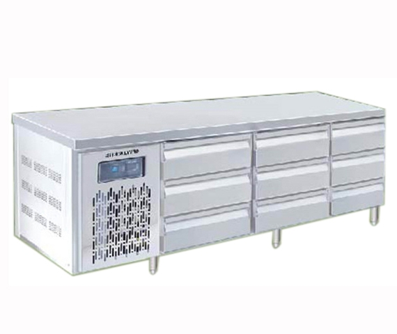 COUNTER CHILLER 9 DRAWER 2M4