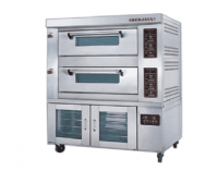 gas heated baking  oven 12trays